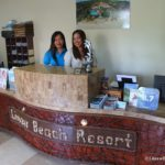 Linaw Beach Resort Panglao Island Bohol front desk